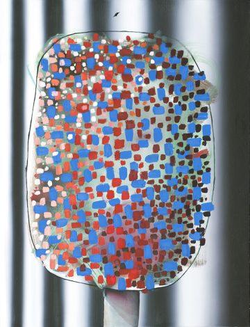 2017 85 x 65 cm  Oel auf Leinwand